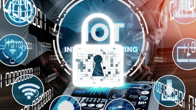 Internet der dinge und kommunikationstechnologie konzeptionell