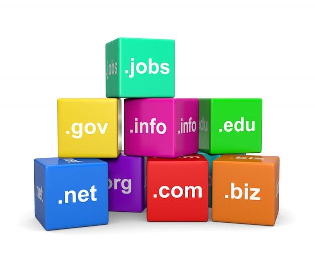 Internet-domain-namen