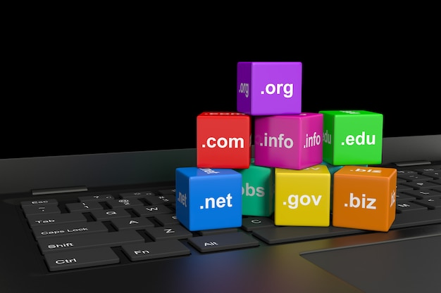 Internet-domain-namen