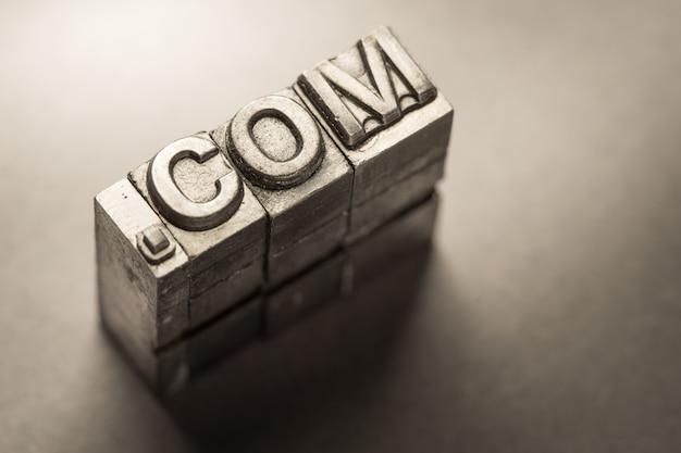 Internet-, www-, website- und .com-geschäft