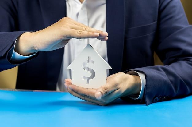 Investieren sie in immobilien für die zukunft, familie und bildung, kredit-und bankwesen.