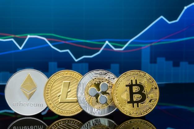 Investition in bitcoin und kryptowährung