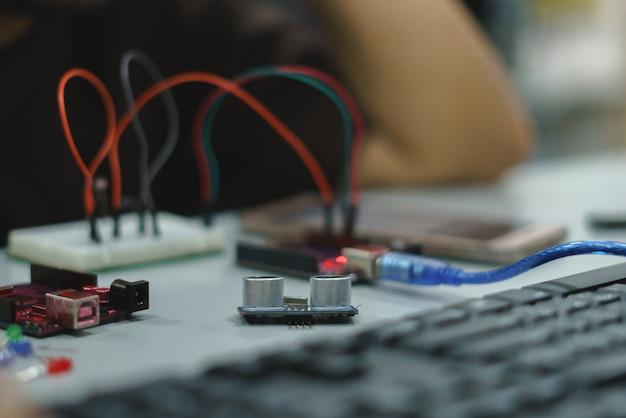 Iot development kit für das pädagogische experiment