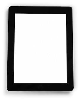 Ipad mit leerem bildschirm