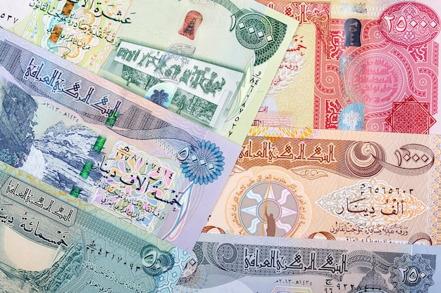 Irakischer dinar ein betriebswirtschaftlicher hintergrund