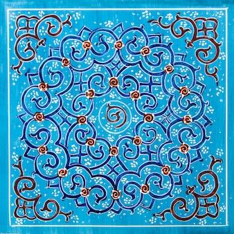 Iranische dekorative keramikfliesen