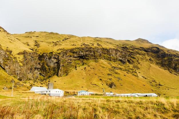 Isländische landseite