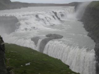 Isländische wasserfall