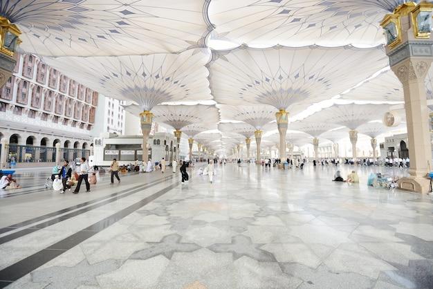 Islamische heilige moschee in madina