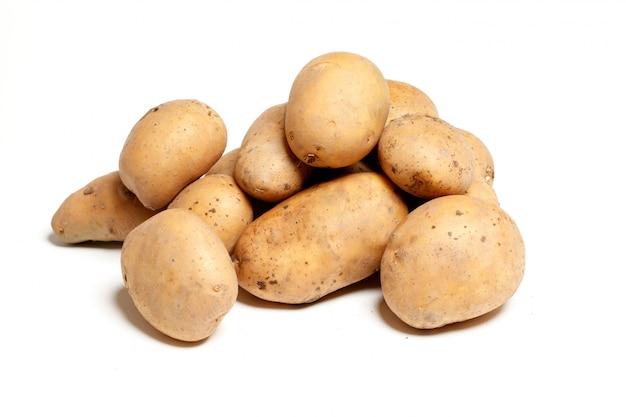 Isolierte kartoffeln