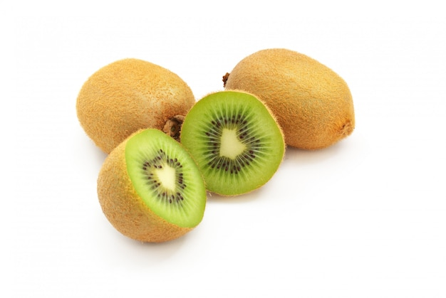 Isolierte kiwi.