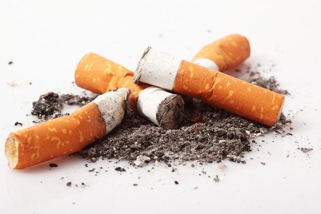 Isolierte zigarette