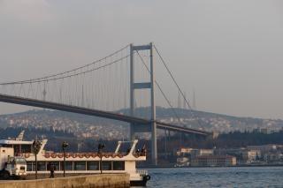 Istanbul bosporus-brücke
