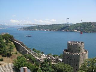 Istanbul-bosporus und festung rumeli