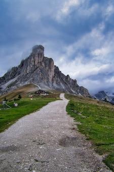 Italienische alpen dolomiten