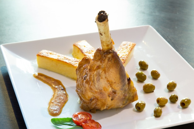 Italienische gastronomie, lammmäuse