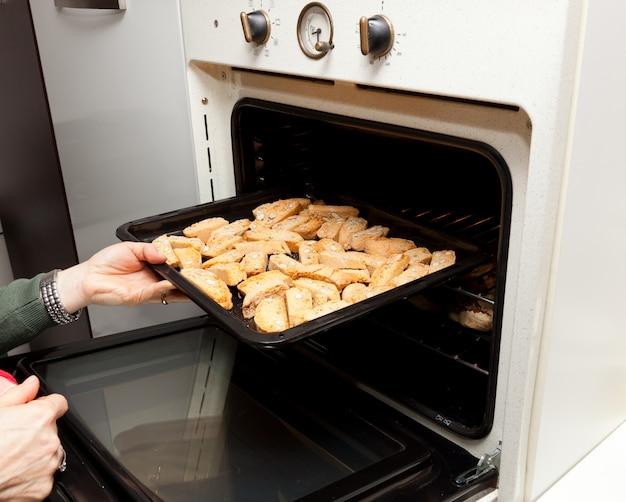Italienische kekse cantucci