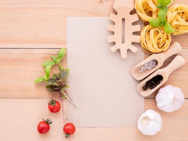 Italienische küchenzutaten
