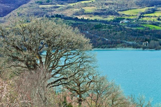 Italienische naturlandschaft