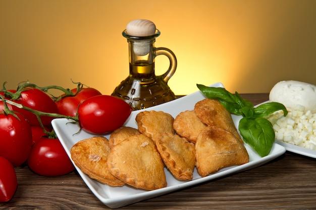 Italienische panzerotti