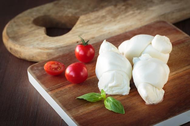 Italienischer mozzarella