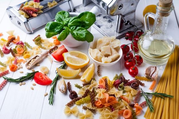 Italienisches essen-konzept