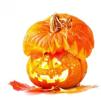 Jack o'lantern für halloween