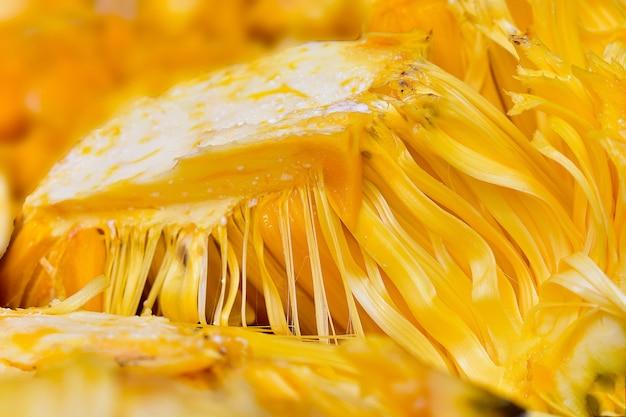 Jackfrucht reife gelbe farbe