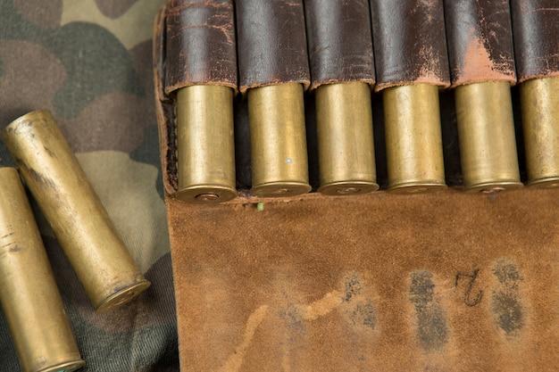 Jagdpatronen, jagdmunition, bandelier