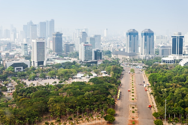 Jakarta luftbild