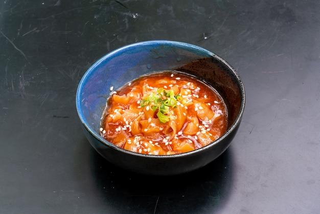 Jakobsmuschelsalat mit sesamöl
