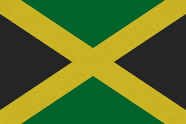 Jamaika stoffflagge