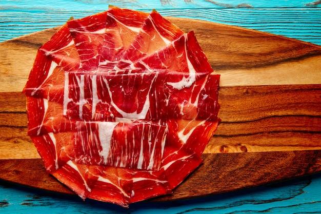 Jamon iberico schinken aus dem andalusischen spanien