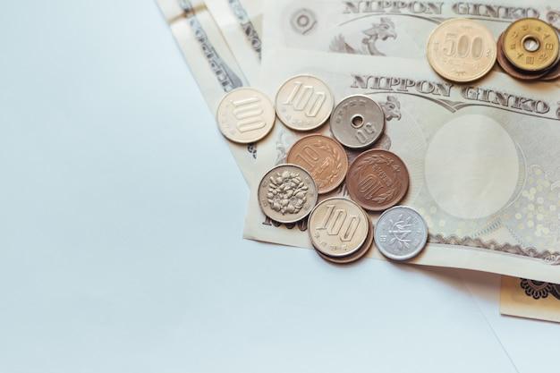 Japan-banknoten u. münzen für geschäft
