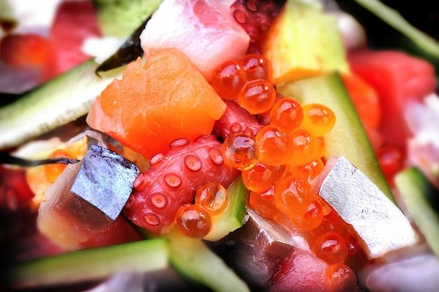 Japan mix sashimisalat