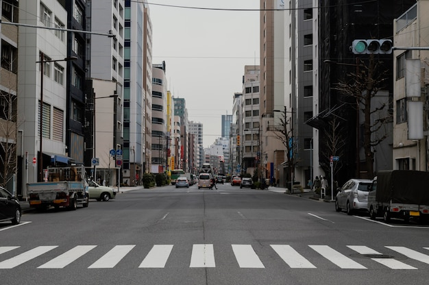 Japan straße tagsüber