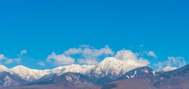 Japan winter berg