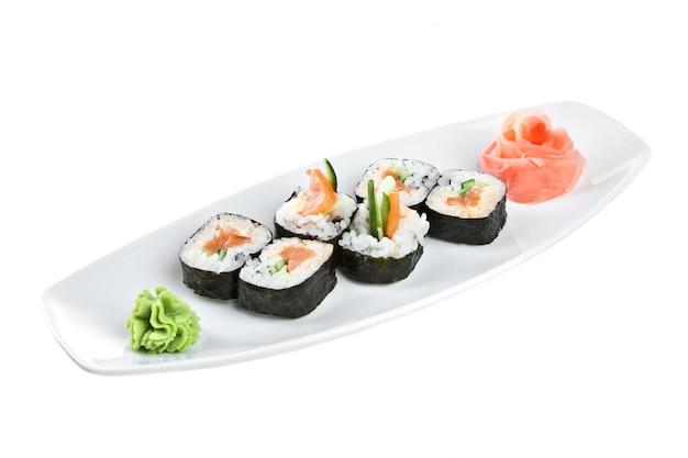 Japanische küche - sushi (yasai roll)