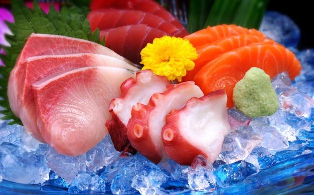 Japanische mischung sushi-set