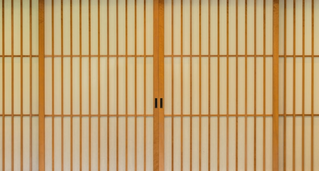 Japanische schiebetür papier.