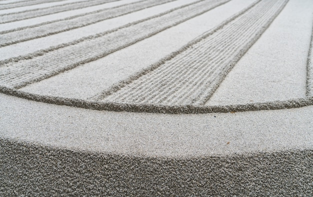 Japanischen zen-garten meditation stein.