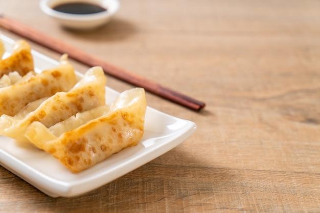 Japanischer gyoza oder knödelsnack