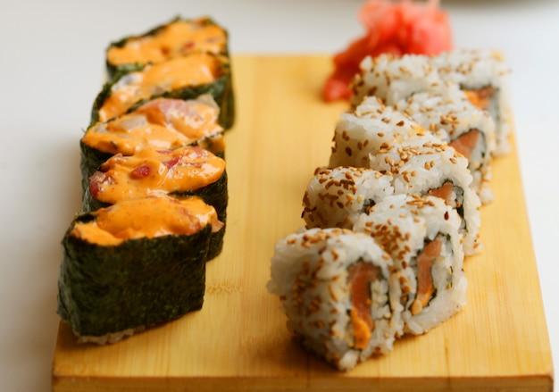 Japanisches essen. sushi.
