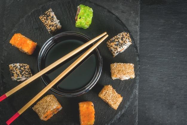 Japanisches essen, sushi