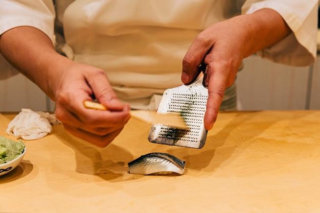 Japanisches omakase-menü