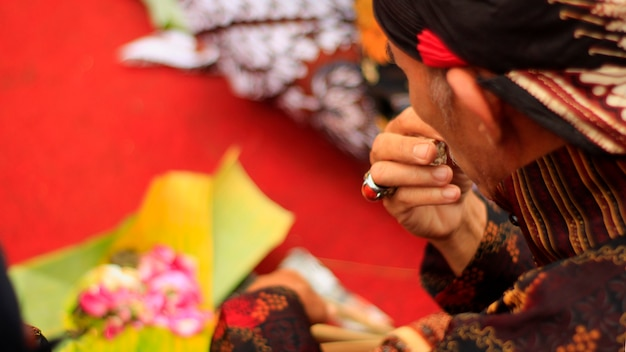Javanesisches ritual