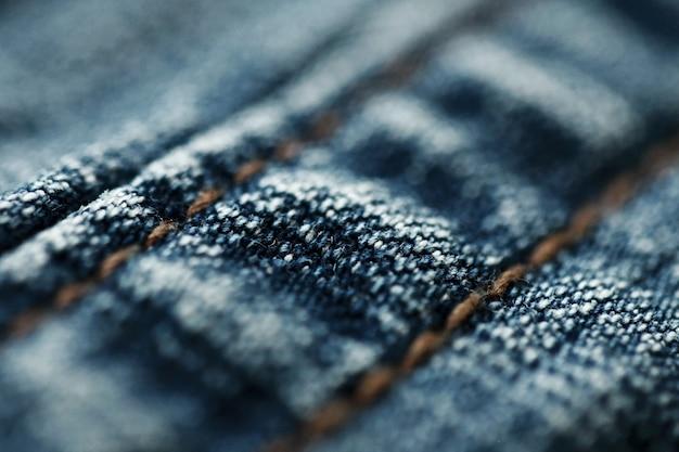 Jeans denim textur nahaufnahme, nur einen punkt fokussieren