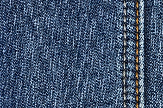 Jeans des beschaffenheitshintergrundes. jeans des beschaffenheitsweinlesehintergrundes. nahaufnahme denim des hintergrundes und der beschaffenheit