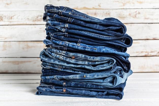 Jeans haufen