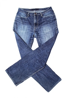 Jeans isoliert